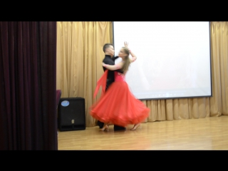 Анастасия Чернова и Кирилл Митякин. Танго
