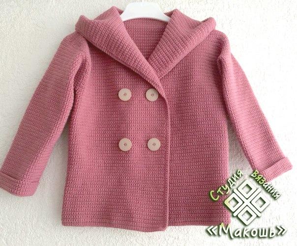 Детское пальто. (3 фото)