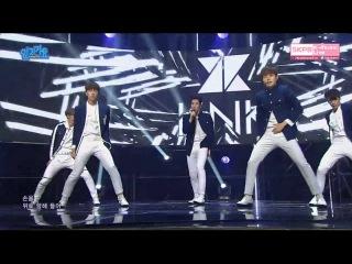 160410 KNK (크나큰) - Knock (노크) @ 인기가요 Inkigayo