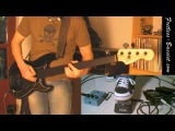 Fred Frizz Fretless bass distortion &amp wah