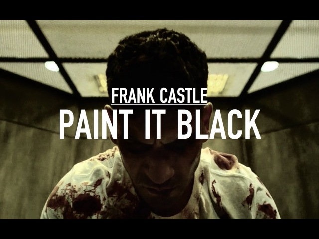 Frank castle: paint it black