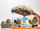 Кинетический ЖИВОЙ песок СВОИМИ РУКАМИ