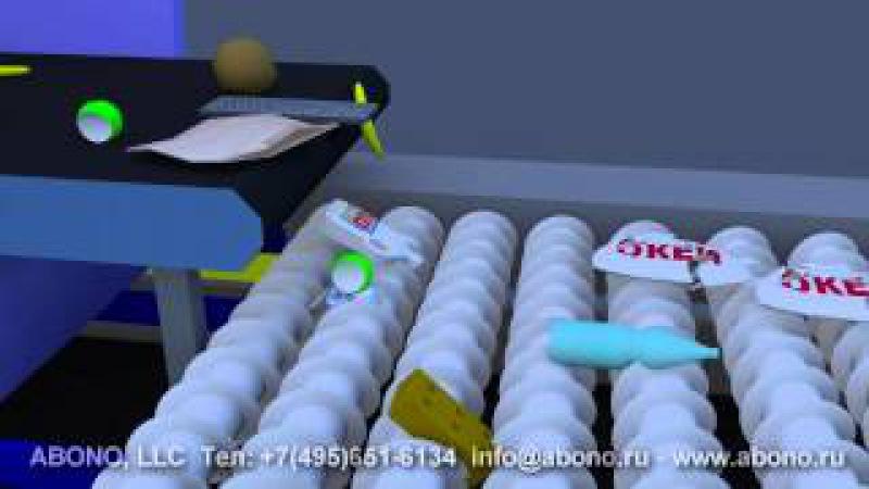 Сортировочные линии ABONO для сортировки ТБО. Концепт мусоросортировочного завода