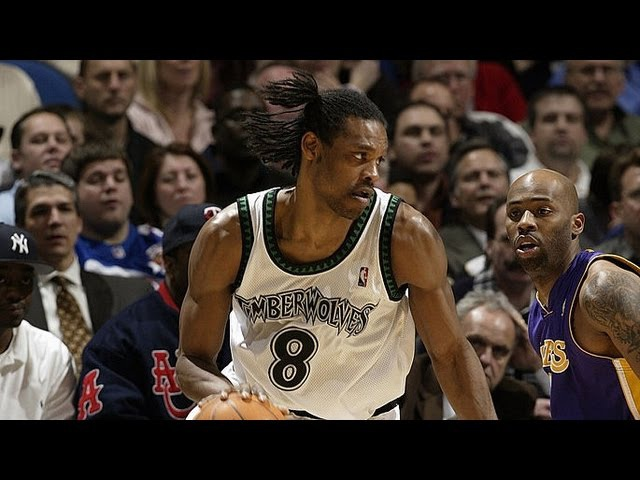 Latrell Sprewell 28 pts 5 asts vs Lakers 29.05.2004