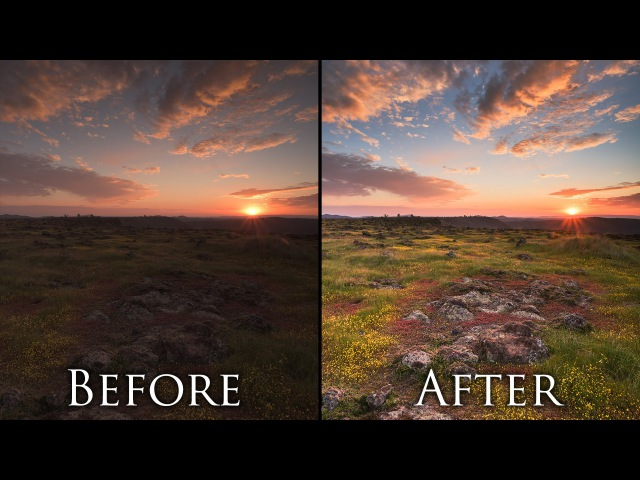 Post Processing Landscape Photos in 5 Minutes - Photoshop Tutorial and Workflow