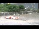 18 июля 2014. Луганск. После обстрела центра города 18.07.2014 18