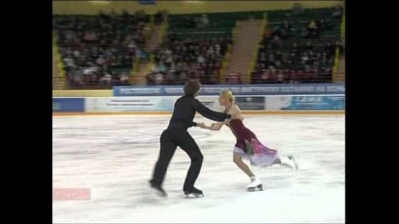 Ekaterina BOBROVA Dmitri SOLOVIEV 2011 FD Russian Nationals