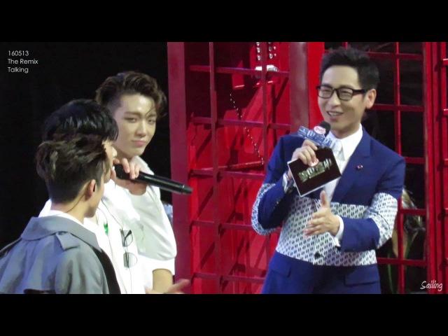 [FanCam]160513 The Remix-iKON Interview