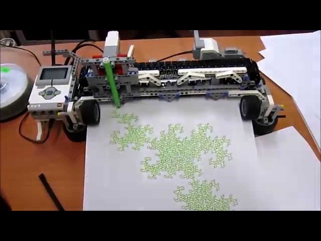 LEGO Mindstorms EV3 plotter printer