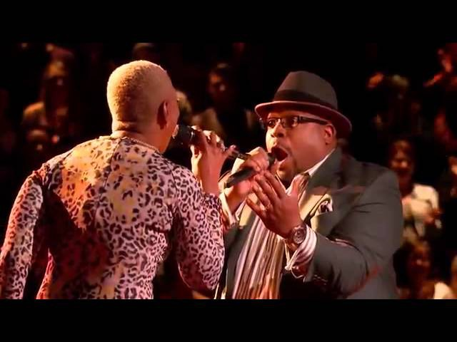 Biff Gore vs Sisaundra Lewis It's a Man's Man's Man's World The Voice Highlight