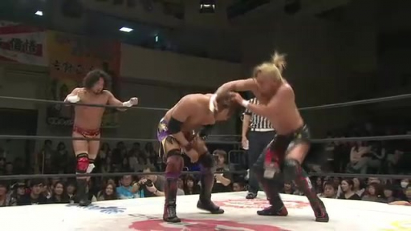 Jimmyz K ness JKS Kanda Susumu Masaaki vs VerserK Yamato