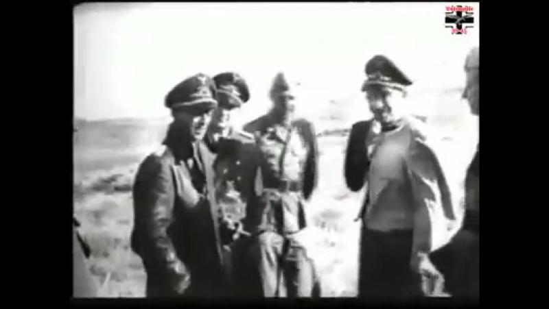 Адольф Галланд и Ханс-Иоахим Марселль (Африка)