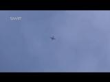 Су-24 вернулся с бомбежки боевиков ИГ. Сирия.