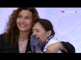 Evgenia MEDVEDEVA|Евгения Медведева - Ожидание оценок в Kiss & Cry, Чемпионат Европы 2016