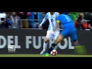 Проброс мяча между ног