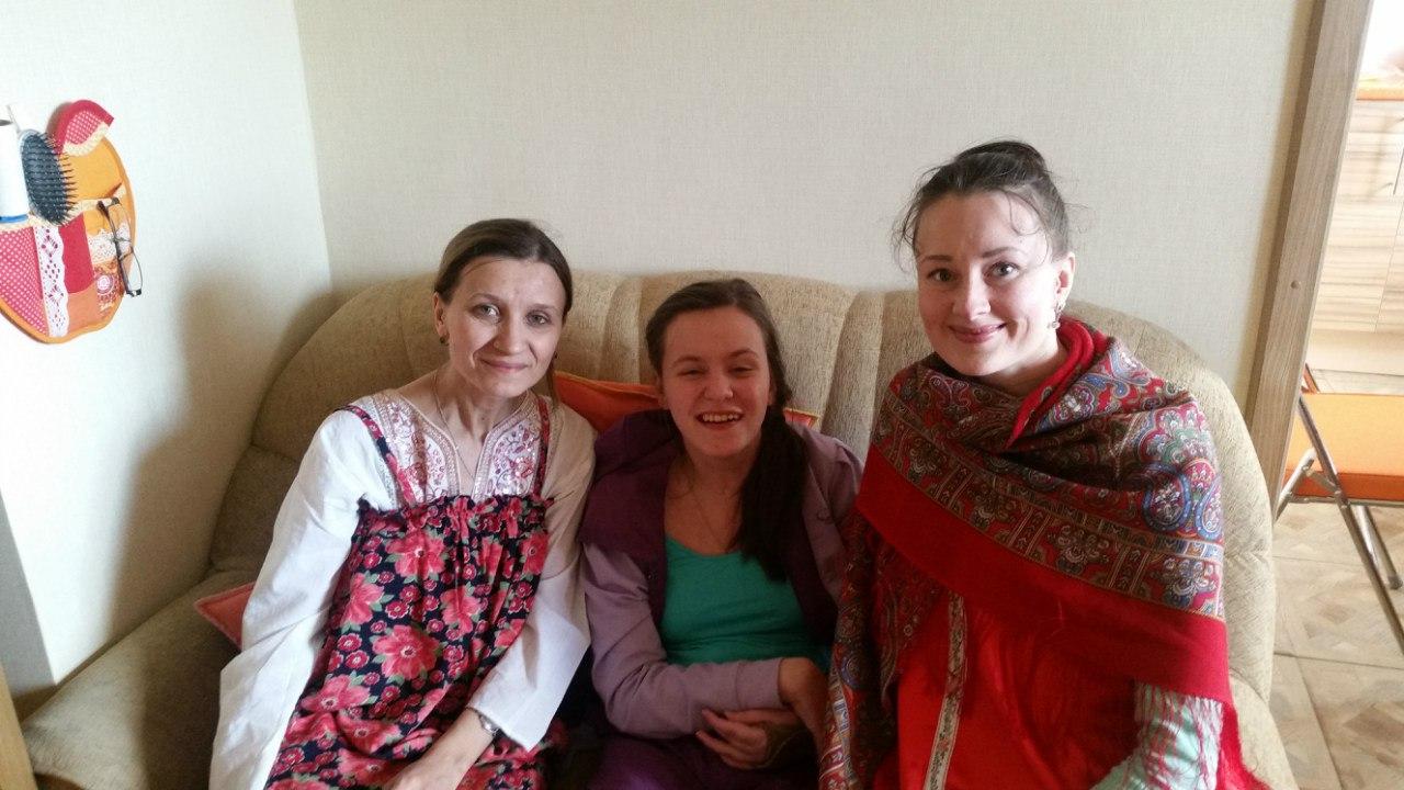 Поздравление детей-инвалидов с Пасхой