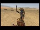 Схватка. Мирмидонец Ахиллеса VS Воин Чингисхана/Fight. Myrmidon VS Warrior of Genghis Khan.