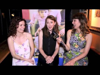 KATIE CHATS: M4AM, TRENNA KEATING & LARA JEAN CHOROSTECKI, ACTORS, CELEBRITY MINGLE FOR A MISSION