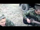 Армейские Песни под гитару На могилу снег тихонько падал