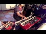 Smokin' (Hammond solo) - Denis Ronchese  Boston cover