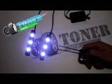 ДХО +стробоскоп линзованные 3 диода интернет-магазин Тюнинг-Светотехника