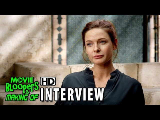 Mission Impossible Rogue Nation 2015 BTS Movie Interview Rebecca Ferguson is 'Ilsa Faust'