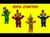 NEW Teletubbies Jumping  For Joy Teletubby Dancing Bear  US Version  Playing Having Fun Parody
