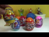 Teletubbies Teletubby Disney Surprise Eggs Cars New 2015