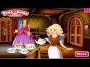 Chị Bí Đỏ chuẩn bị cho công chúa Cinderella đến dạ hội ♥ Game Thời trang Công chúa