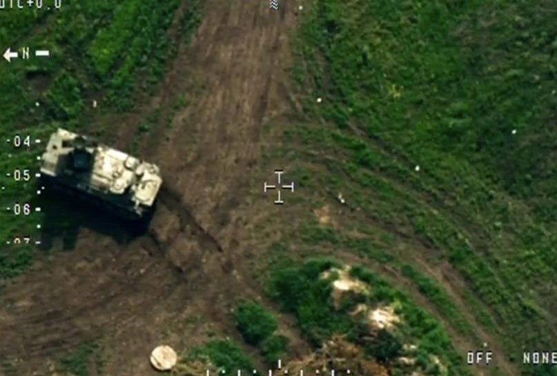МТЛБ с установленной системой ЗРК «Стрела», которую обнаружил дрон / Фото: ОБСЕ