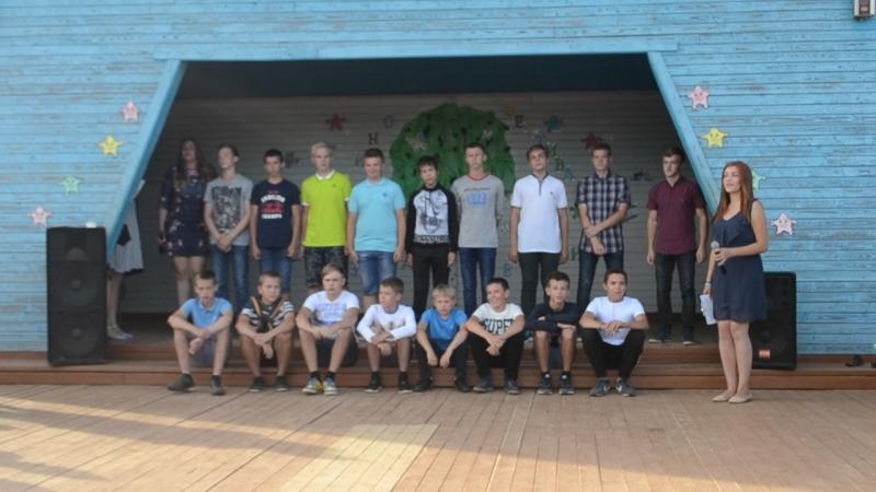 Битва хоров мальчики 2 отряд 3 смена 2016 год
