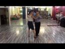 Танго-лаборатория 1.08.2016 - Связка Алексея и Веры (Михаил Чудин - Эльвира Кашкарова, урок аргентинское танго)