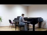 Концерт отдела в малом зале 9.12.2015 Моцарт Соната К.280 2 часть-игр Стрельцова Ника