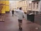 А.Макаревич, Г.Сукачёв, Б.Гребенщиков, К.Кинчев в социальной рекламе 90-х