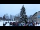 Открытие Новогодней ёлки в Коноше.