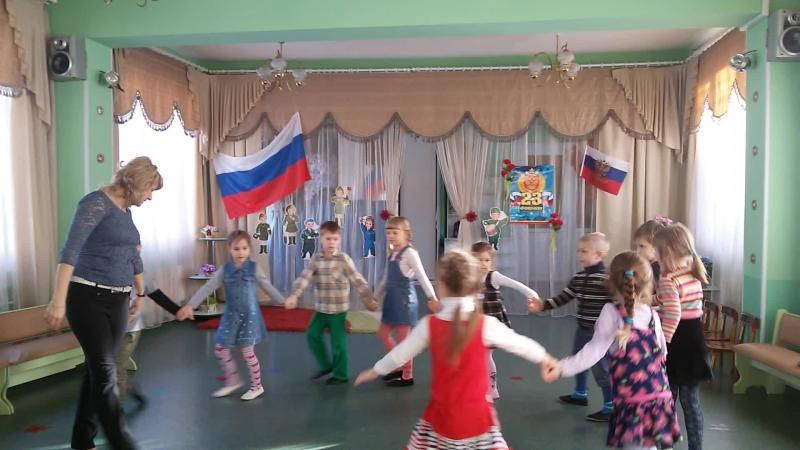 Во саду ли в огороде Хороводный танец к 8 марта