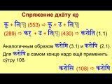 Санскрит урок 030 - спряжение 8-й группы глаголов