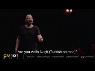Cem Yılmaz - Uyudun mu? (with English Subtitles)