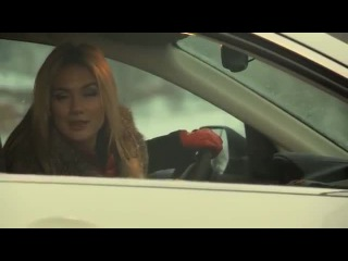 HONDA CRV- Анастасия Трегубова тест-драйв в программе 'Москва рулит'
