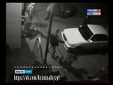 Ночной Кызыл...драка около клуба Рай. 01.12.2014