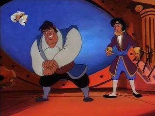 Аладдин (Aladdin) - Грабёж средь синя моря (1 Сезон. 14 Серия)