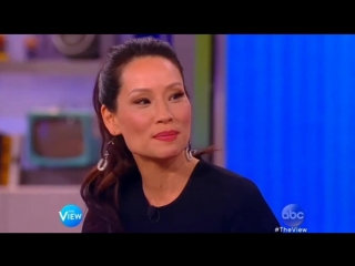 Lucy Liu on The View (Feb 11th, 2015)