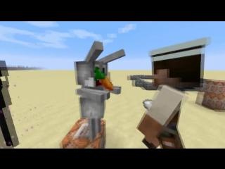 Интересные факты о Minecraft # 39 Заяц без модов