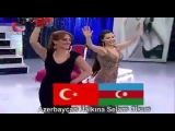 Azeri Kizi Gunel Biz iki dovlet, bir milletik Az Tr