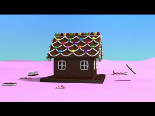 Christmas cartoons for toddlers kids children. Construction game_ gingerbread house.mp4