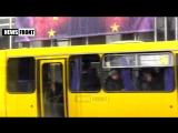Эксклюзив от Одесских партизан. Акция в центре города. Вперед в Европопу!