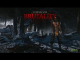 Mortal Kombat 10 All Fatalities Brutalities &amp X Ray, Intro Quotes - Mortal Kombat X Reptile, Ermac
