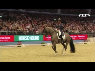 Шарлотта Дюжарден и Валегро (Charlotte Dujardin & Valegro). Мировой рекорд в КЮРе 94,300%. 2014 г. Олимпия, Лондон