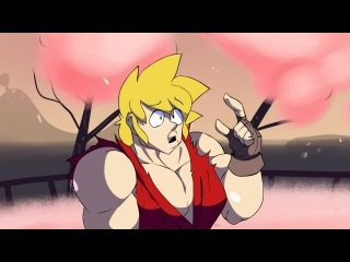 Starbomb - Ryu vs Ken rap battle(rus)