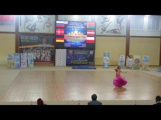 Татьяна Брякотнина - II European Dance Stars 2 место 3 лига